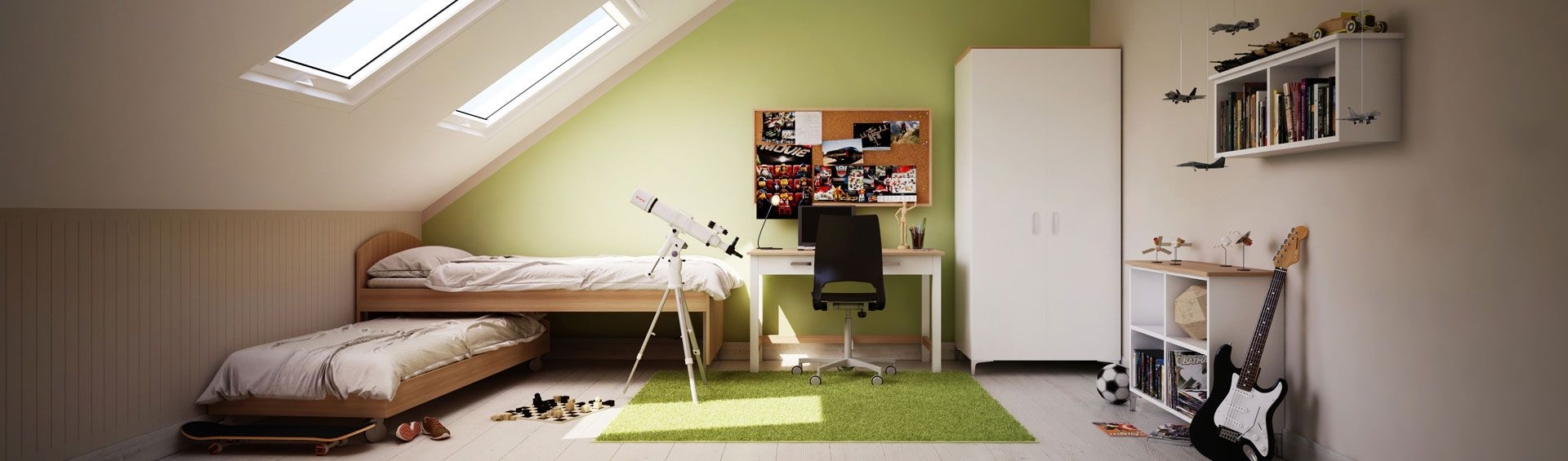 BOY'S ROOM FURNITURE - DESIGN IT BY YOURSELF!